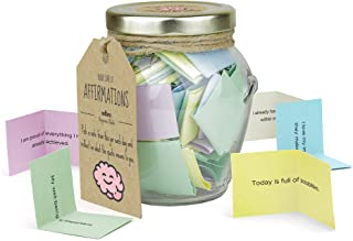 adbra | Positive Affirmations in a Jar | A Month of Motivational Messages | Get Inspired and find Peace | Unique Gift idea...