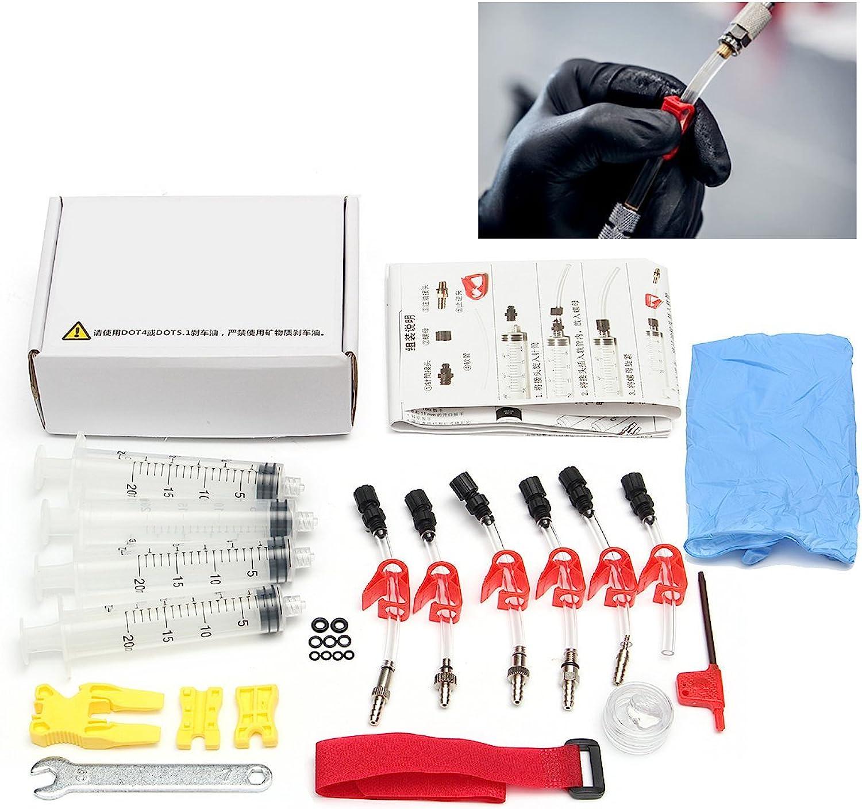 GEOPONICS BIKIGHT Bicycle Hydraulic Disc Brake Bleed Kit Tool for AVID Formula HYGIA Usagi Hayes