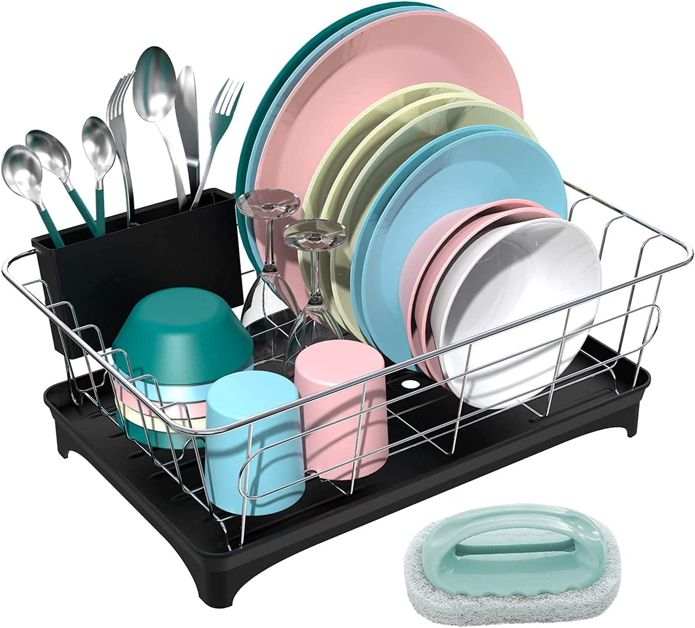 Factory outlet ANTOWIN Dish Superlatite Drying Rack Drainer Set Drain Board with