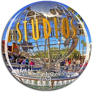 Weekino USA America Universal Studios Hollywood Los Angeles Fridge Magnet 3D Crystal Glass Tourist City Travel Souvenir Co...
