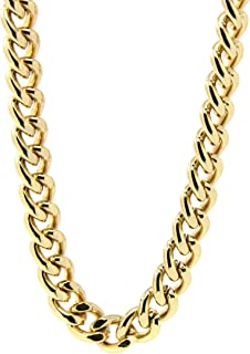 Mens 18k Gold Plated 36