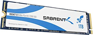 Sabrent Rocket Q 1TB NVMe PCIe M.2 2280 Internal SSD High Performance Solid State Drive R/W 3200/2000MB/s (SB-RKTQ-1TB)