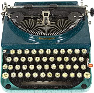 Just My Type: Vintage Typewriter 750 Piece Shaped Puzzle