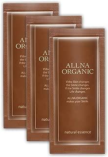 オルナ オーガニック 美容液 サンプルパウチ「 くすみ 対策用 」「 コラーゲン 3種 + ヒアルロン酸 4種 + ビタミンC 4種 + セラミド 配合」 3ml ×3