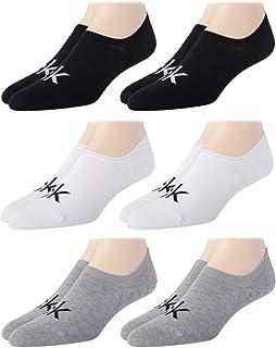 Men's Socks - Cotton Blend No-Show Liner Socks (6 Pack)