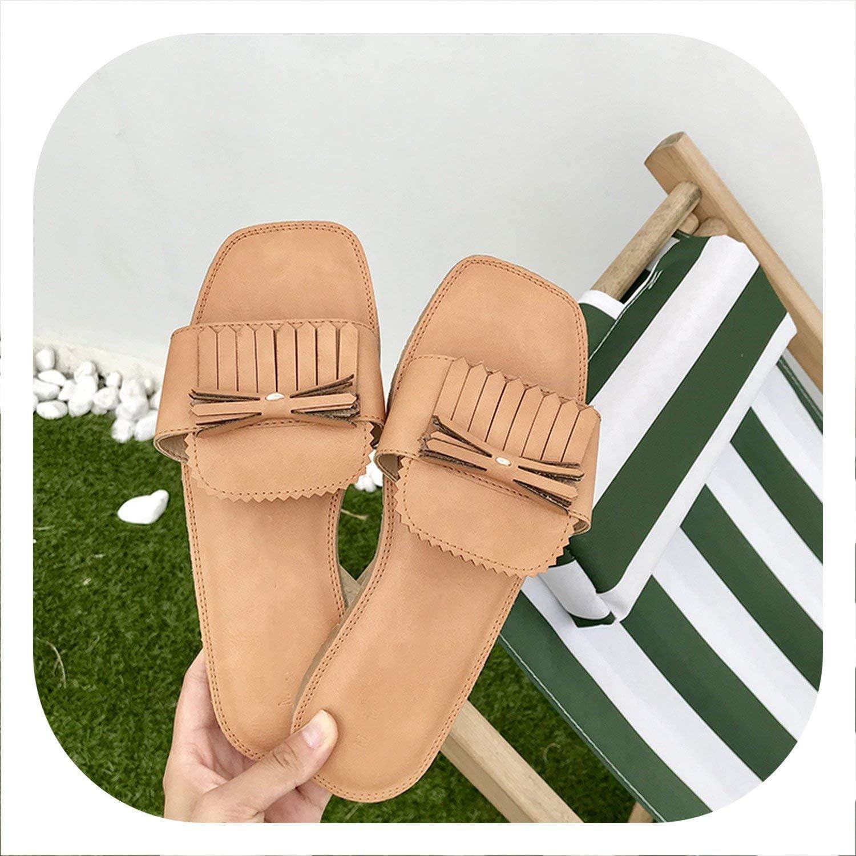 Glad You Came Soft Slippers Ladies Summer Slides Comfortable shoes Fringes Design Slippers Female Indoor shoes Fashion Mules Slides