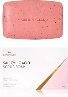 Revitale Salicylic Acid Scrub Soap, Pore Exfoliating,