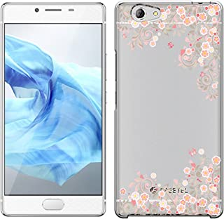 [Breeze-正規品] iPhone ・ スマホケース ポリカーボネイト [透明-Pink] フリーテル カバー SAMURAI REI[SAMURAI REI] [SREI1810BA]