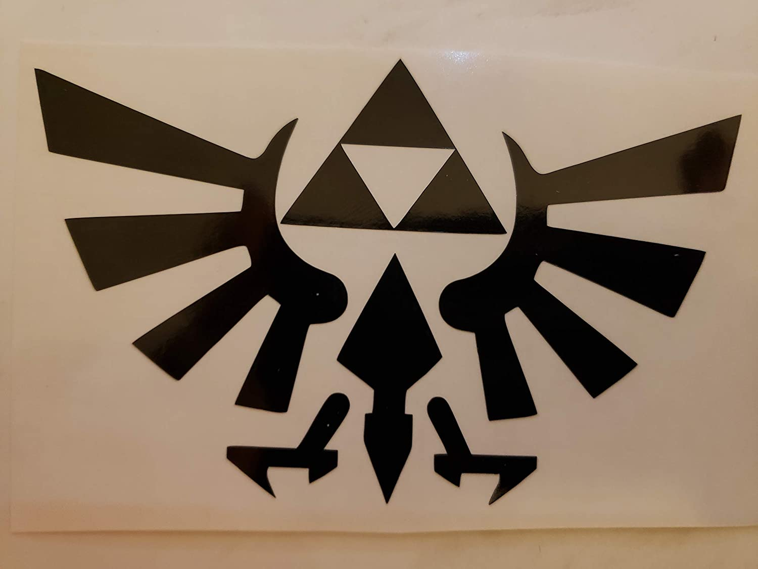 LEGEND of ZELDA TRIFORCE - WOW Decal Windo Vinyl RE High quality Ranking TOP4 10