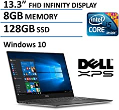 2016 Dell XPS 13 High Performance Laptop with 13.3