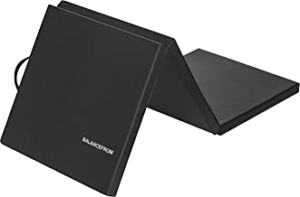 """BalanceFrom 2"""" Thick Tri-Fold Folding Exercise Mat with Carrying Handles for MMA,.."""