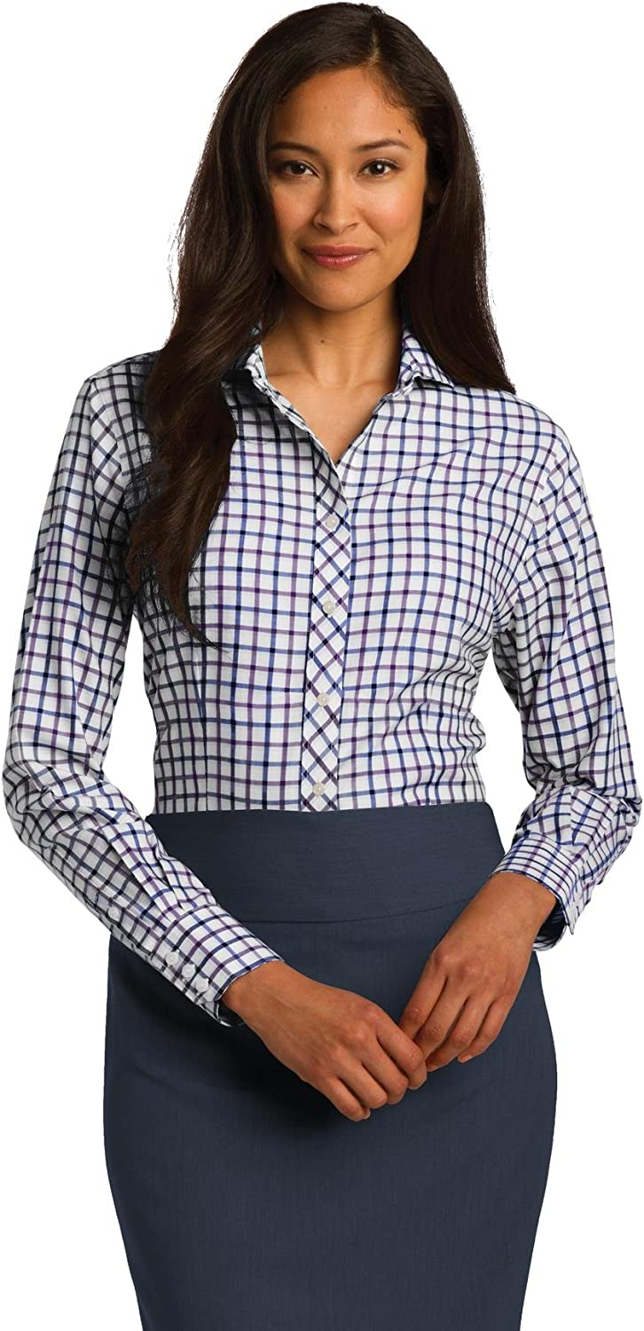 Red House Ladies Tricolor Check NonIron Shirt