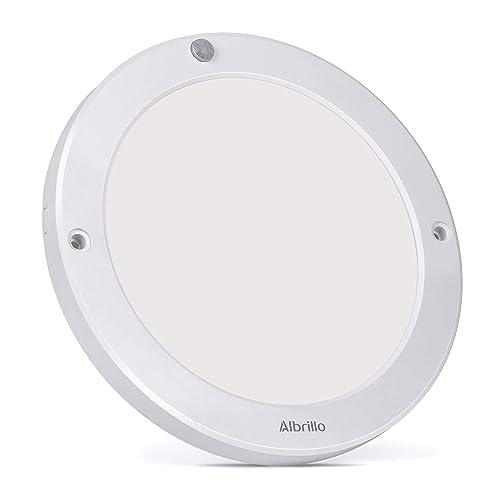 74e1e584e5 Motion Sensor Ceiling Light 100 Watt Equivalent - Albrillo Indoor Outdoor  LED Ceiling Lights for Stairs