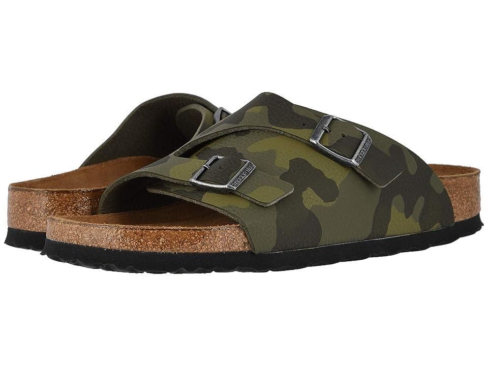 Birkenstock Zurich Soft Footbed (Desert Soil Camo Green Birko-Flor) Men
