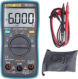 BSIDE ZT101 Digital Electrician Multimeter Auto Range Ture RMS 6000 Counts Multitester AC/DC Voltage Amp Ohmmeter Capacitance Frequency Meter Tester