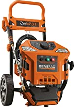 Generac 6602 OneWash 3,100 PSI, 2.8 GPM, 4-in-1 PowerDial, Gas Powered Pressure Washer (Discontinued by Manufacturer)