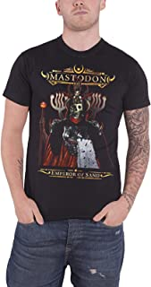 Mastodon T Shirt Emperor of Sand Band Logo Official Mens Black