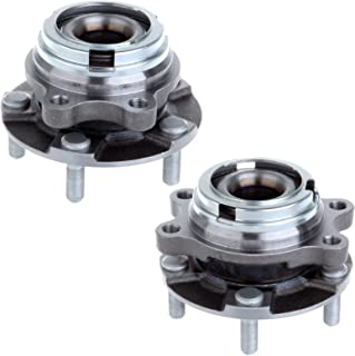 SCITOO Compatible with 2 Pcs Wheel Hub Bearing Front Fits Infiniti EX35 EX37 FX35 FX37 G25X G37X M56X M45X AWD