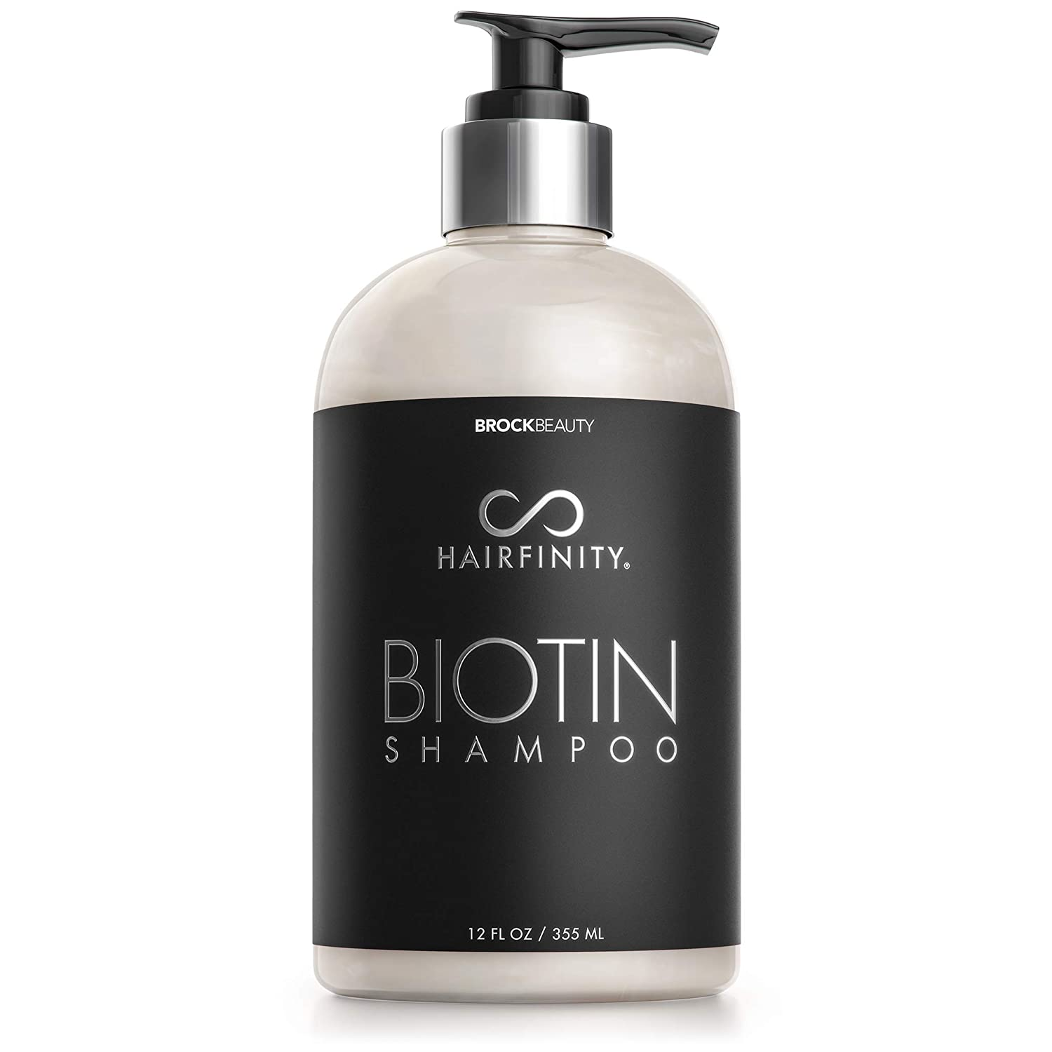 Hairfinity Biotin shop Super popular specialty store Shampoo - Sulfate Best for Silicone Free and