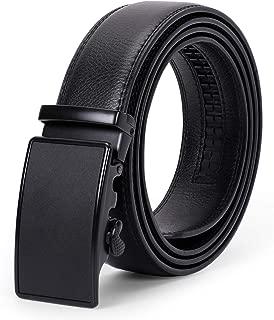 Men's Leather Ratchet Belt Comfort Dress Belt for Men...