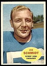 1960 Topps #46 Joe Schmidt Excellent+ Lions