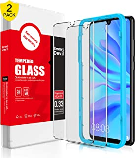 [2 Pack] SmartDevil HD Tempered Glass Screen Protector for Huawei P30 Lite, Premium Screen Protector Tempered Glass [9H Ha...