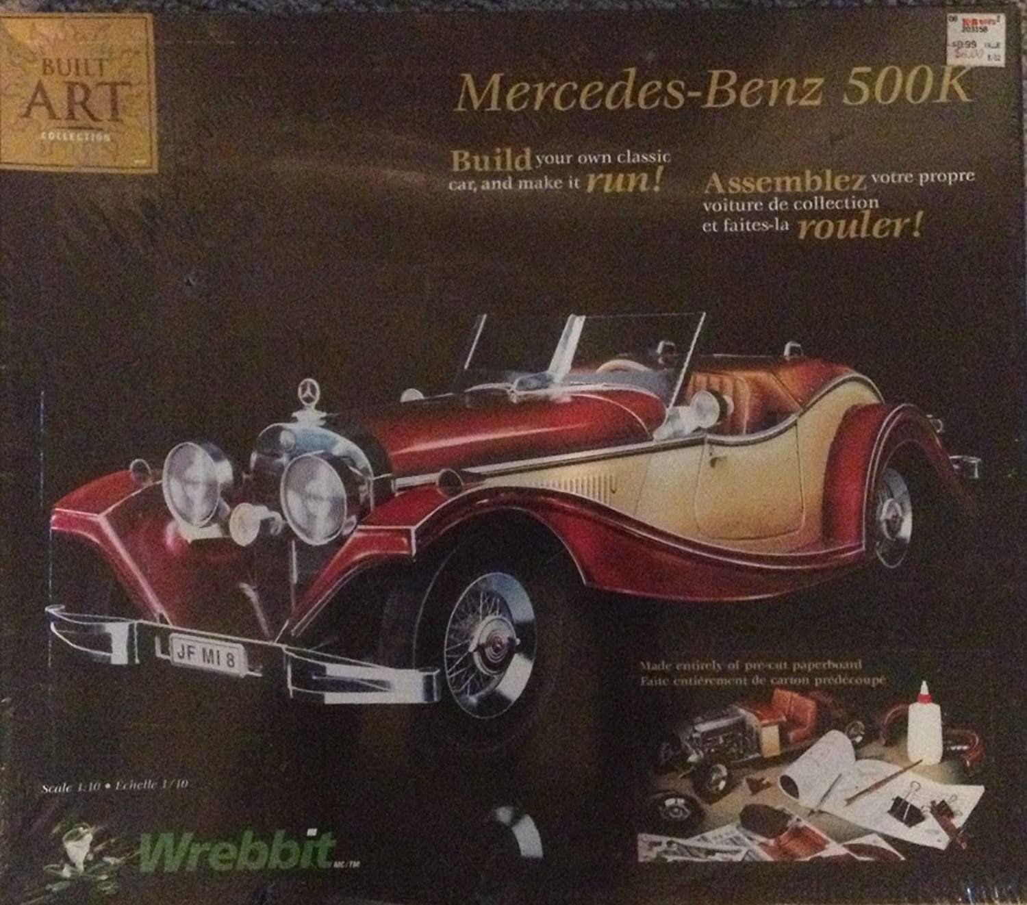 THE MERCEDES-BENZ 500K ROADSTER Model Scale 1 10  CBC-203