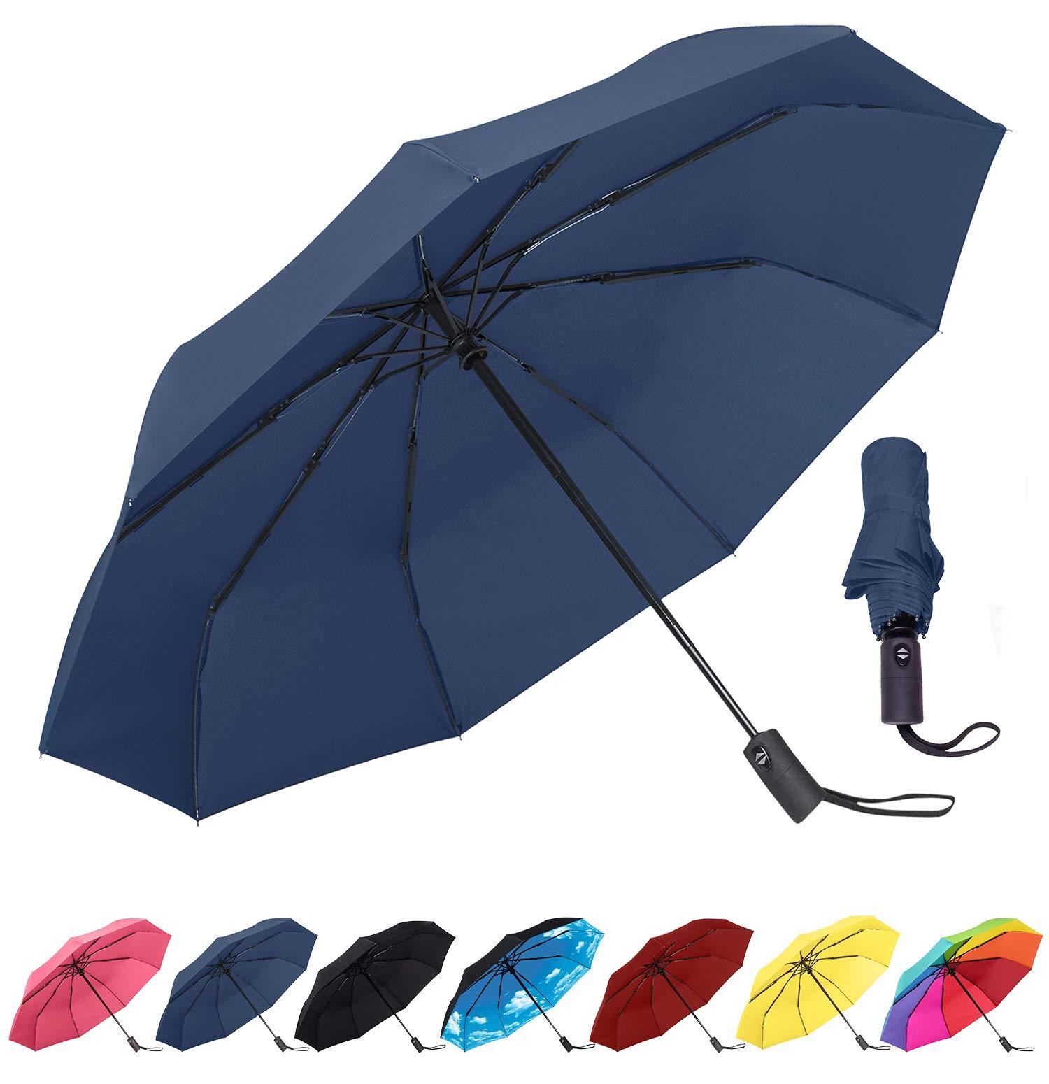 Rain Mate Compact Travel Umbrella Reinforced
