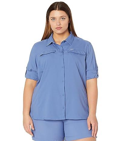 Columbia Plus Size Silver Ridge Lite Long Sleeve Shirt