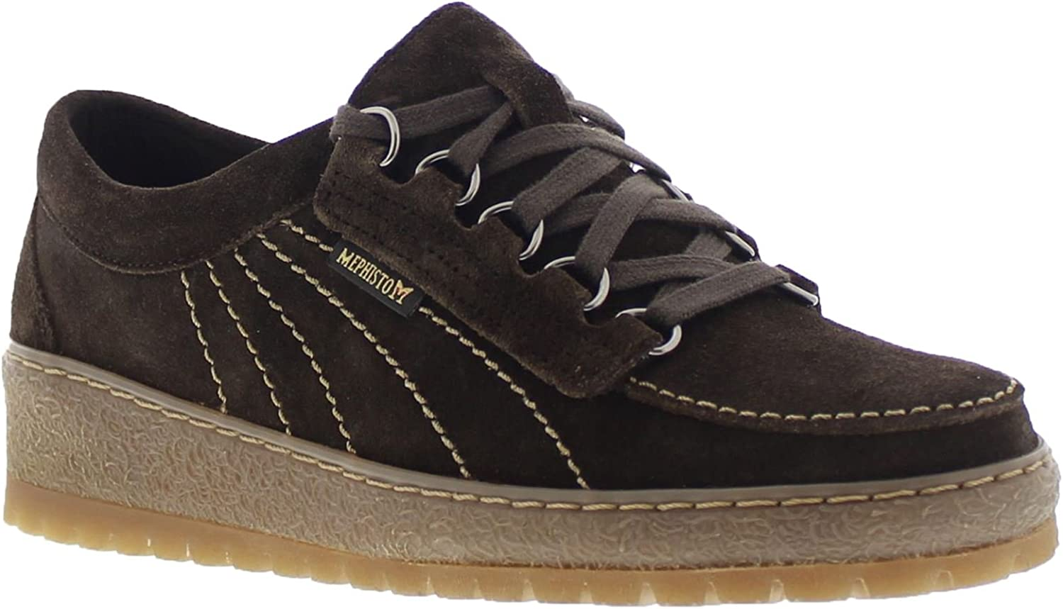 Mephisto Womens Lady Suede Shoes