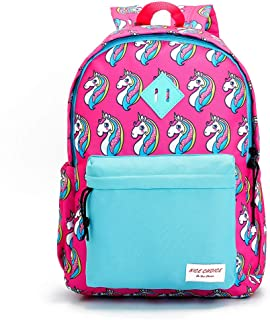 Preschool Backpack Little Kid Toddler Kindergarten School Backpacks for Boys and Girls with Chest Strap (Unicorn Blue)