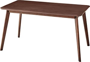 ESPSENT 55 Inch Mid-Century Modern Dining Table Kitchen Dining Room Furniture, Natural Wood, Rectangle