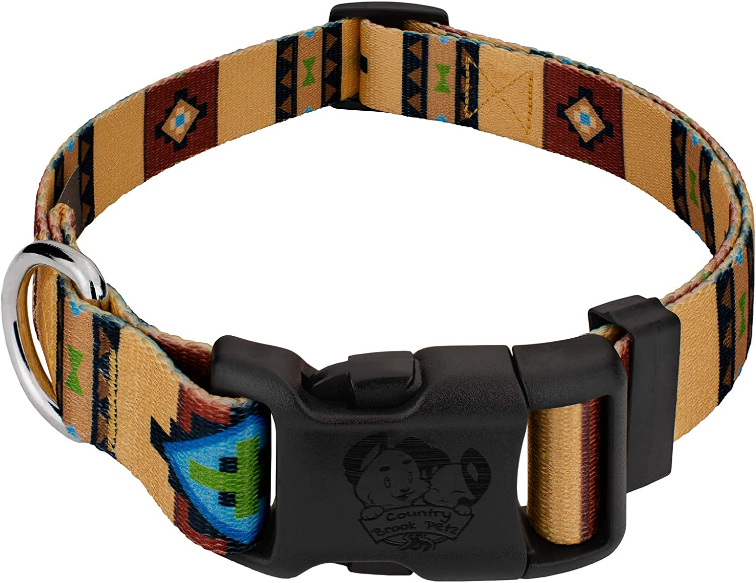 Max 43% OFF Country Brook Design - Deluxe Dog Collar and Super popular specialty store C Western