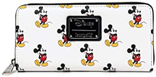 Loungefly x Classic Mickey All Over Zip Wallet