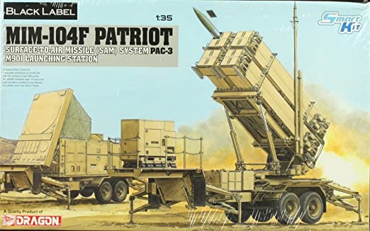 Dragon 1:35 MIM-104F Patriot SAM System PAC-3 M901 Launching Station Kit #3563 : Everything Else - Amazon.com