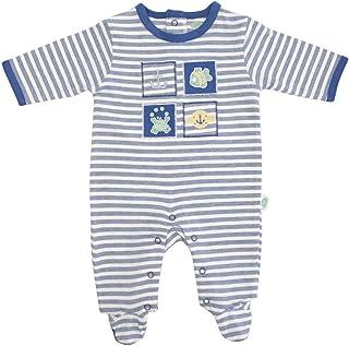 Kujju Tutina a maniche lunghe per neonato 100/% cotone