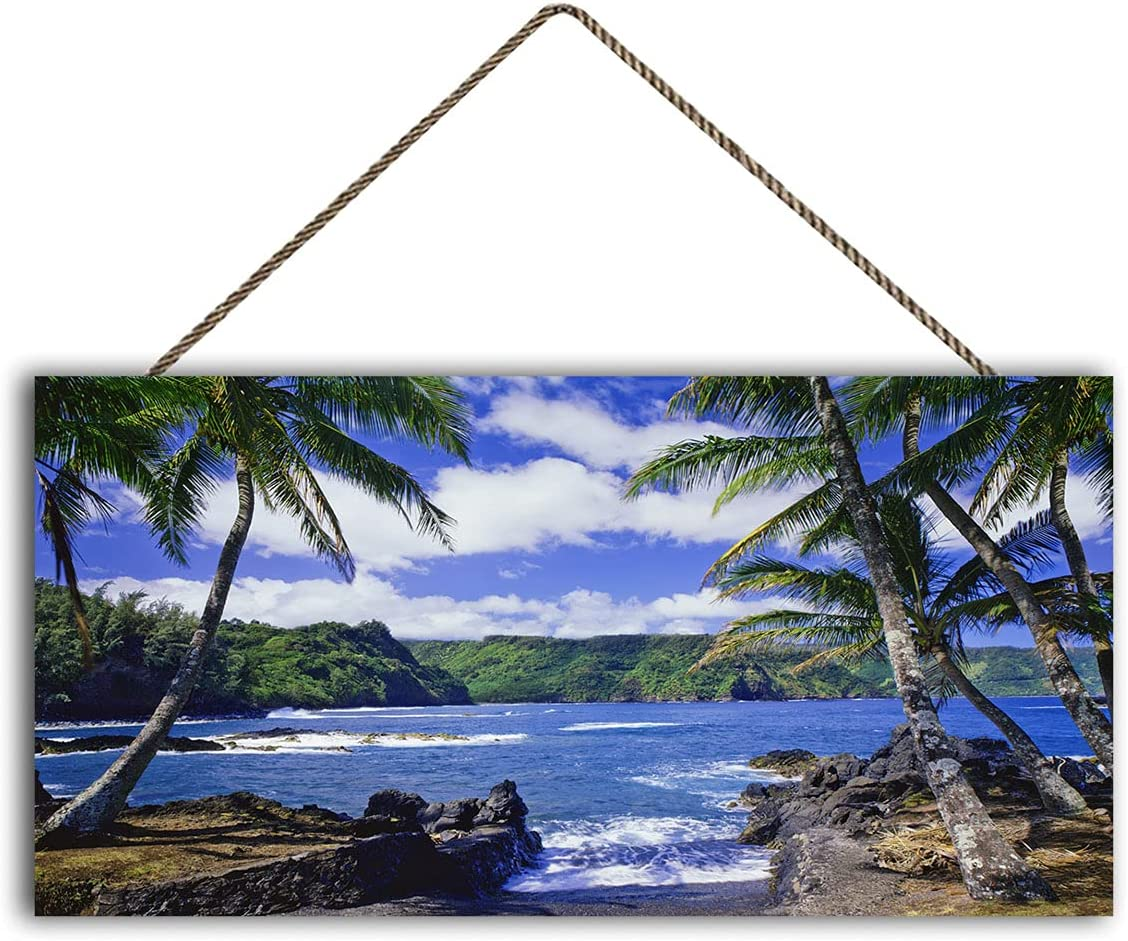 Surf Hawaii USA Wood Wall Art Ranking TOP18 The S Breaking Prints New life Against