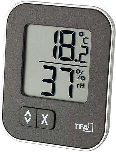 Thermomètre Hygromètre MOXX 30.5026.10 anthracite