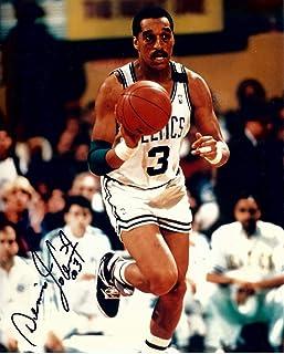 Ricky Davis Signed Autographed 8X10 Photo Celtics Road Dunk w//COA