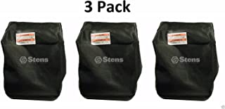 Stens 3 Pack 365-221 Grass Bag Fits Exmark 116-0757 103-0431 1-656566 Bag ONLY