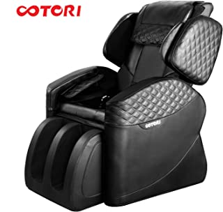 OOTORI Massage Chair Luxurious Electric Full Body Zero Gravity Massaging Chair Recliner with Heating Back Bluetooth Foot Roller and Air Massage System for Home Relax