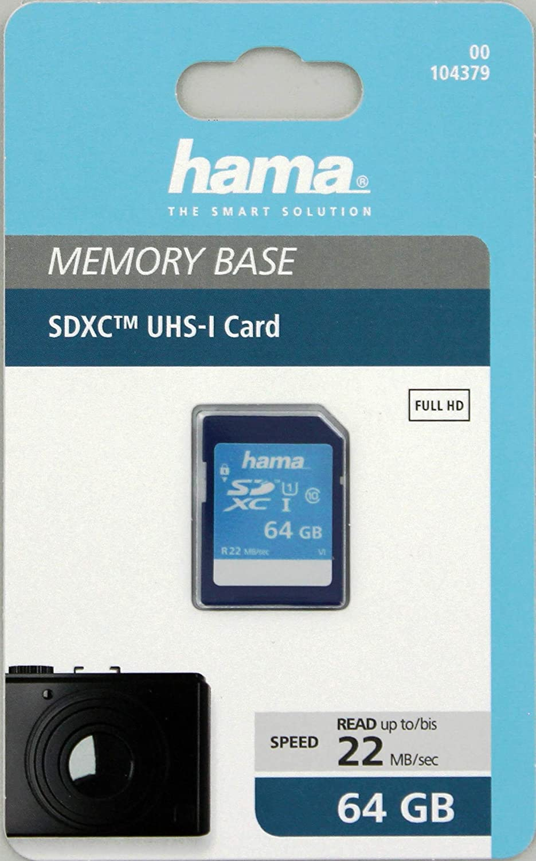 Hama Speicherkarte Sdhc 32gb Sd 2 0 Standard Class 10