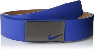 Men's Sleek Modern Plaque Belt