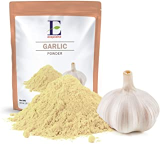 Garlic Powder - 1 lb (16 oz) - Pure, Fine Ground, Dehydrated, Gluten Free, Non-GMO, 100% Vegan, No Preservatives or Additives in Eco-Friendly Packaging Bulk Pack - by Exquizite Aromatic Foods