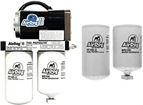 AirDog II-4G 165 GPH Fuel Lift Pump & Extra Filters Compatible with 2011-2016 Ford 6.7 Powerstroke Diesel