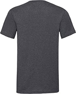 Fruit of the Loom Mens Valueweight V-Neck, Short Sleeve T-Shirt