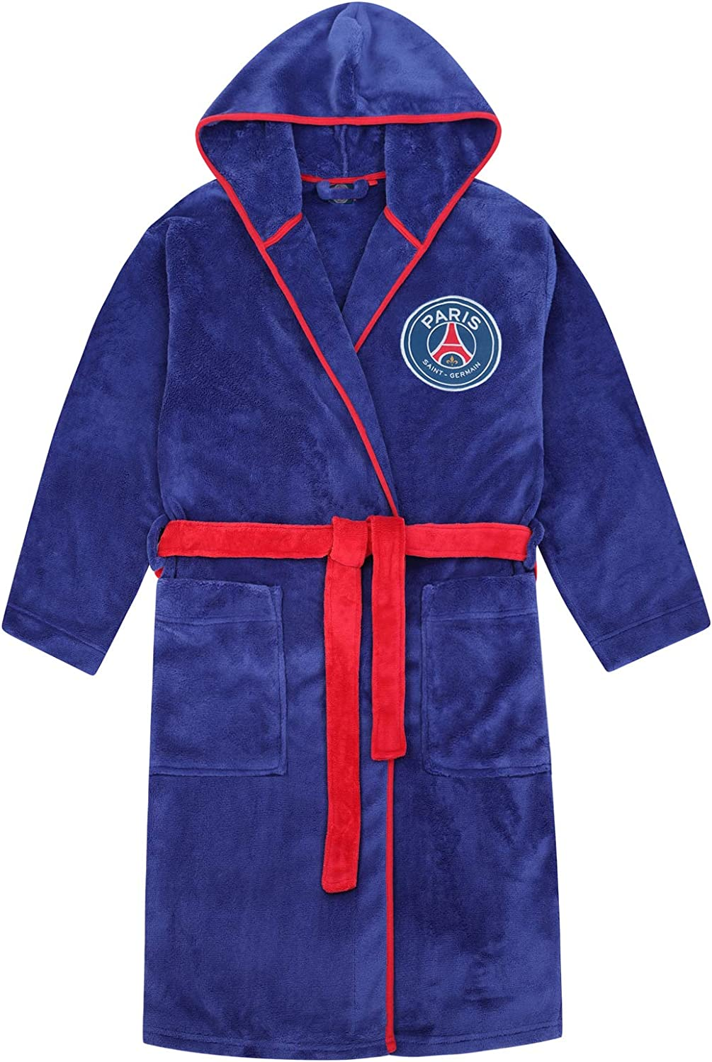 PSG Official Soccer Gift Boys Fleece Hooded Robe Dressing security Gown Special sale item