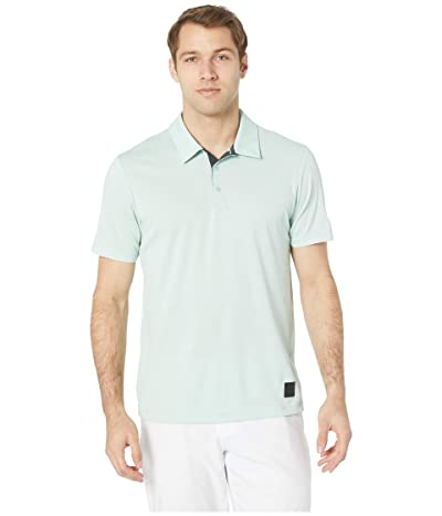 adidas Golf Adicross No Show Transition Polo (Ash Green Melange) Men