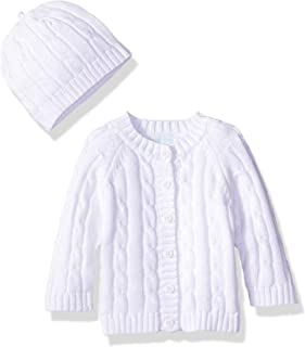 Baby Dove Newborn Cable Knit Cardigan & Beanie - Baby Gift Set