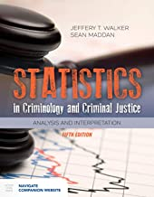 Statistics in Criminology and Criminal Justice: Analysis and Interpretation